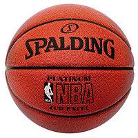 Баскетбольный мяч Spalding NBA Platinum Excel