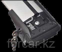 Комплект поперечин (дуг) на стандартные рейлинги Fico Pro (Россия) черный, фото 2
