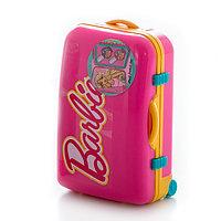 Barbie Розовый набор детской декоративной косметики в чемоданчике, фото 1