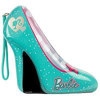 Barbie Набор детской декоративной косметики в зелёной туфельке, фото 1