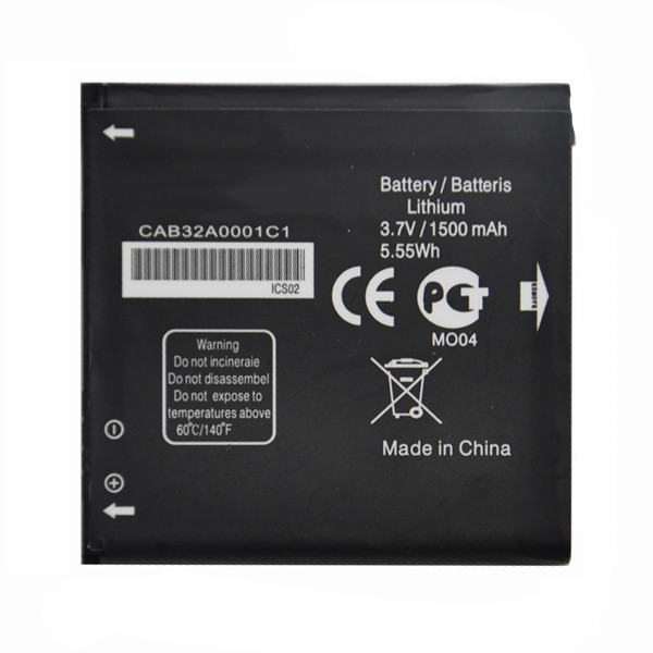 Заводской аккумулятор для Alcatel One Touch 918 Mix (TLiB5AB 1500 mAh)
