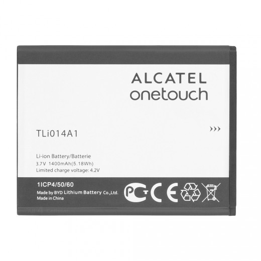 Заводской аккумулятор для Alcatel One Touch 4005D Glory 2 (TLi014A1 1400 mAh)