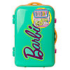 Barbie Набор детской декоративной косметики в зелёном чемоданчике