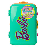 Barbie Набор детской декоративной косметики в зелёном чемоданчике, фото 1