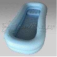 Ванна надувная для мытья больных на кровати с компрессором, фото 1