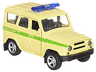 Технопарк УАЗ Hunter Инкассация металлическая инерционная модель, фото 1