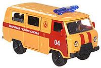 Технопарк УАЗ 39625 Аварийная газовая служба металлическая модель, фото 1