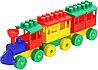 Конструктор - Паровоз с двумя вагонами