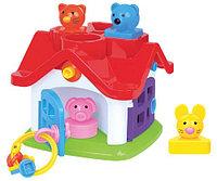 Развивающая игрушка Логический теремок (в коробке), фото 1