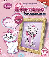 Картина из пластилина Disney Кошка Мари