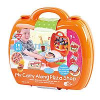 """Игровой набор """"Пиццерия в моем чемоданчике"""""""