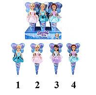 Кукла Принцесса Зимы в оригинальной упаковке в виде рожка (4 вида в асс.)