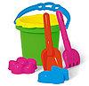 Набор для песочницы № 153 (ведро, сито, лопатки, формочки)