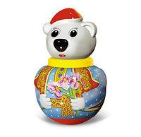 """Неваляшка малая Белый медведь """"Тема"""" (в пакете)"""