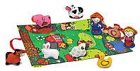 Игровой набор с ковриком и фигурками - Мини ферма, фото 1