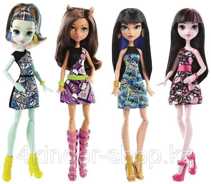 Базовые куклы Monster High (обновленный дизайн) в асс. - фото 1