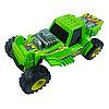 Механическая машинка Stunt Jumper, зеленая