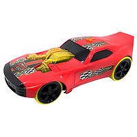 Машинка Toy State на батарейках свет+звук, красная