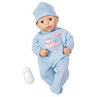 Zapf Creation my first Baby Annabell Кукла-мальчик с бутылочкой, 36 см, фото 1