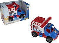"""Автомобиль """"КонсТрак-жандармерия"""" в коробке в ассортименте, фото 1"""