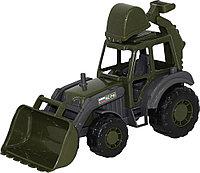 """Военный трактор-экскаватор """"Мастер"""""""