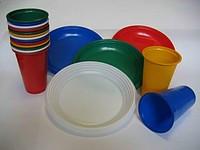 Набор одноразовой посуды для пикника на 10 персон