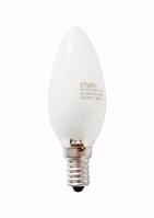 Е14 28Вт 2900К Лампа галогенная ТМ Etalin свеча матовая