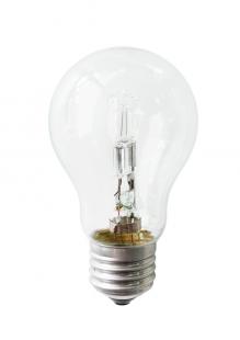 Е27 42Вт 2900К Лампа галогенная ТМ Etalin прозрачная