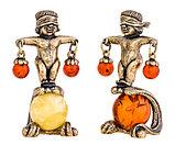 """Сувенир знак зодиака """"Весы"""". Ручная работа, янтарь. Калининград, фото 2"""