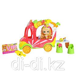 """Игровой набор """"Шопкинс"""" - Смузи-грузовичок и Тропическая Лили"""