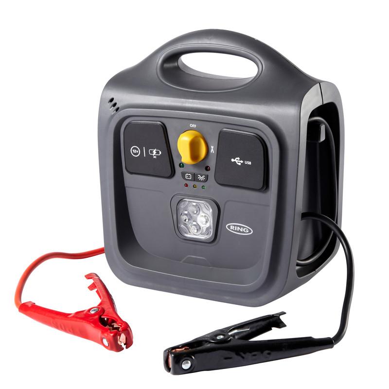 Пусковое устройство + USB, фонарь REPP148 ™Ring Automotive
