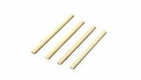 Палочка эстафетная деревянная (комплект 6 шт.)
