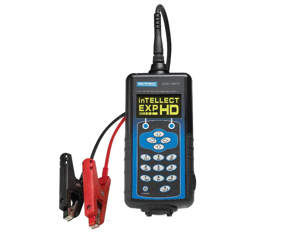 Тестер аккумуляторных батарей и электрической системы 12/24В ™Midtronics