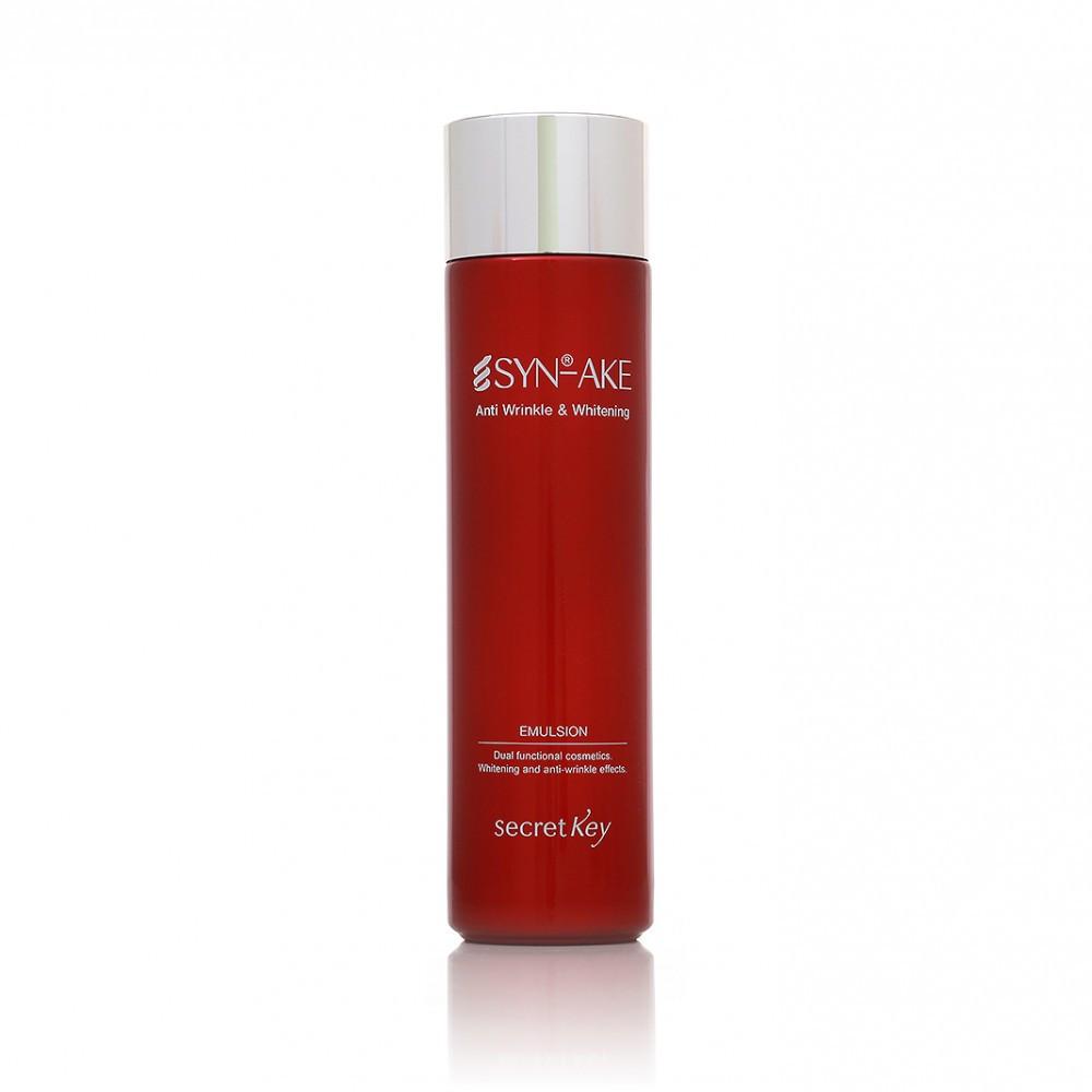 Secret Key SYN-AKE Anti Wrinkle and Whitening Emulsion Эмульсия для лица с экстрактом змеиного яда 150 мл