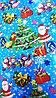 "Новогодняя бумага для упаковки подарков ""Дед мороз"""
