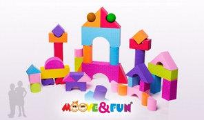 Игровой набор 48 блоков