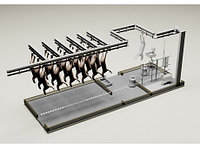 Модуль убоя МРС с холодильником, 240 голов смена, фото 1