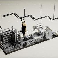 Мобильная модульная бойня КРС, фото 1