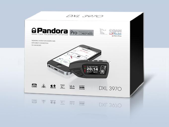 Автосигнализации в алматы Pandora DXL 3970 Pro