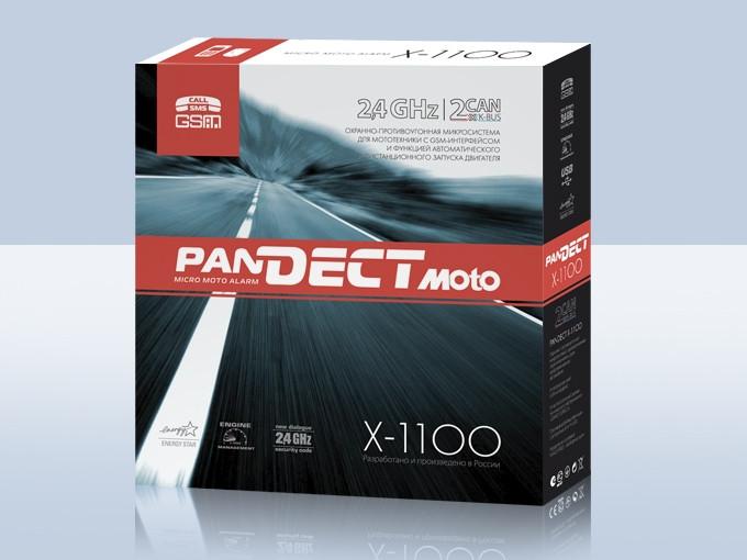 Мотосигнализации в алматы PANDECT X-1100 Moto