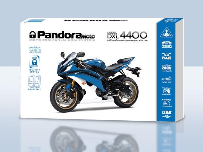 Мотосигнализации в алматы Pandora DXL 4400 Moto