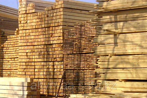 Доска обрезная строительная 25х180х6м