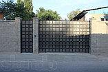 Ворота металлические, фото 8