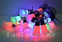 """Светодиодные мигающие гирлянды """"Колокольчики"""" 20 LED А-0670"""