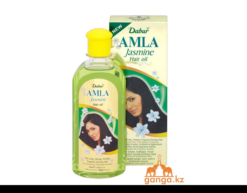Масло для волос Амла с Жасмином (Amla Hair oil with Jasmine DABUR) 200 мл