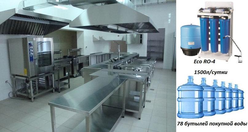 Полупромышленный фильтр воды  eco ro-4, фото 2