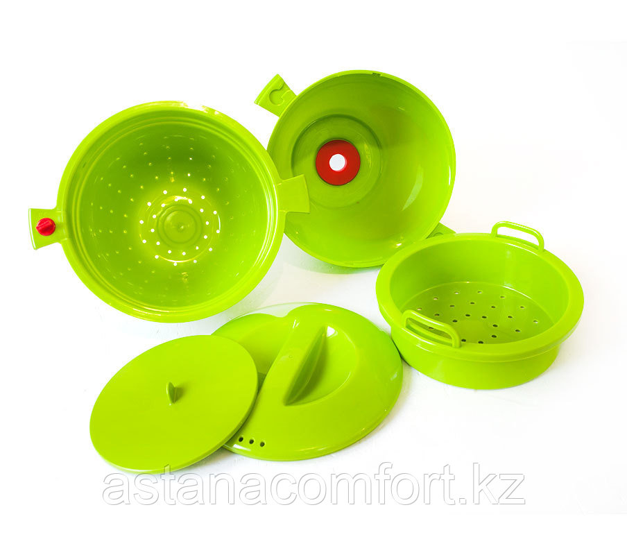 """Набор посуды """"Magic meal"""" для быстрого приготовления нескольких блюд в микроволновке. ОРИГИНАЛ!!!"""