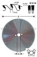 Пильные диски по алюминию твердосплавные +5°