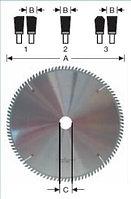 Пильные диски для краевой выборки (вырубные пилы)
