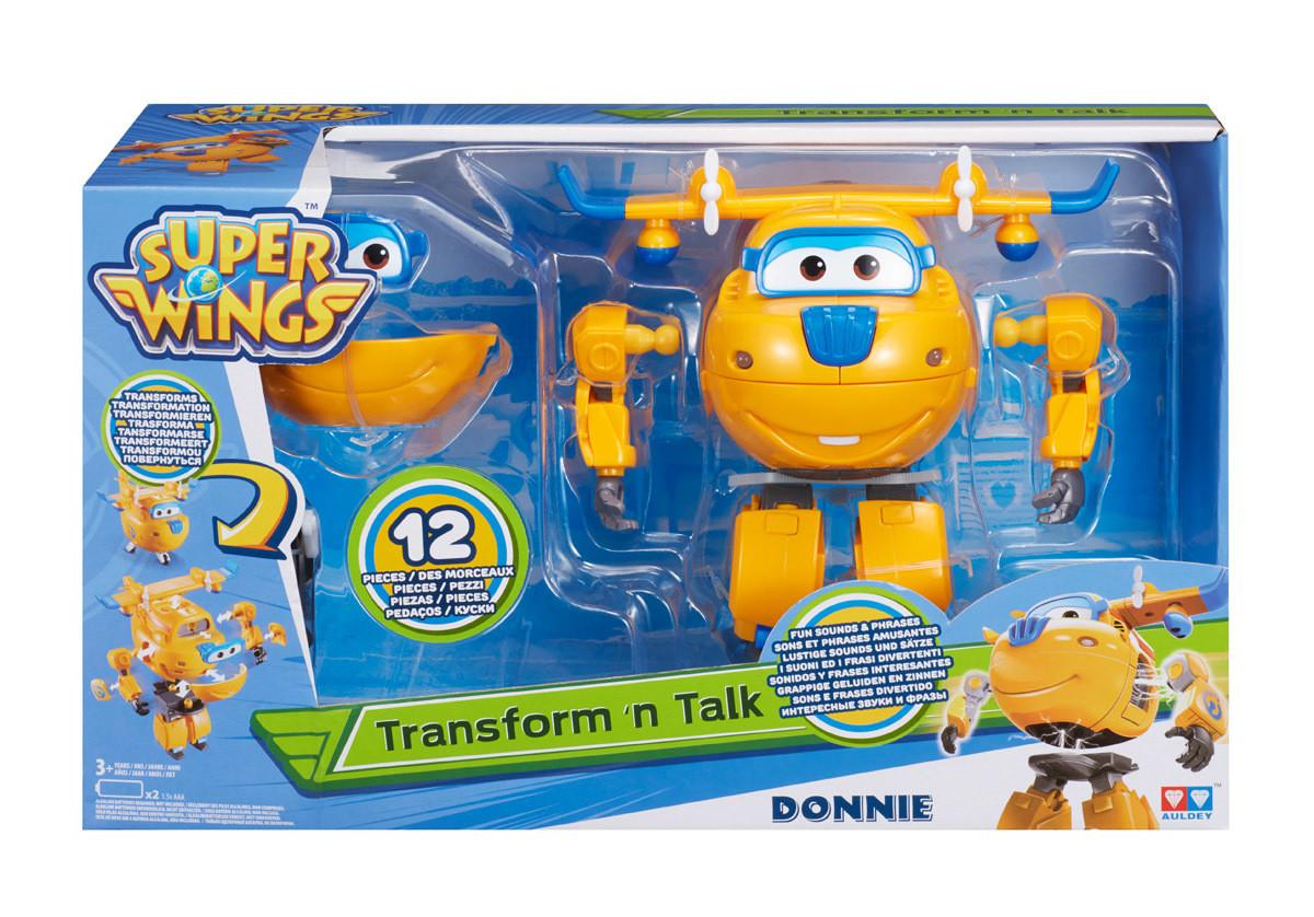 Говорящий трансформер Донни